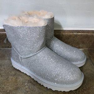 UGG Australia Mini Bailey Bow Sparkle Boots